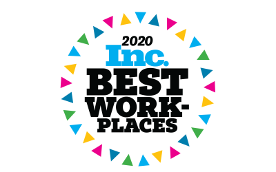 "Awarded National ""Best Workplace"" by Inc. Magazine"