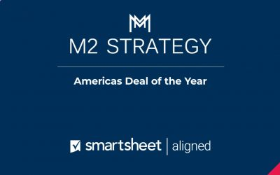 "Awarded 'Americas Deal of the Year"" by Smartsheet"