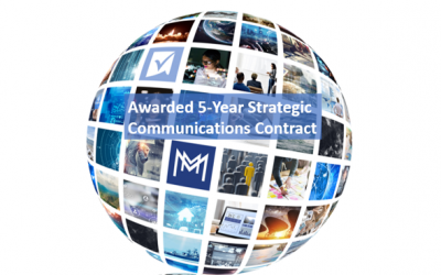 Awarded 5-Year Strategic Communications Contract