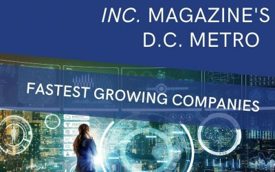 Recognized as a Fastest Growing Company in the DC Area!