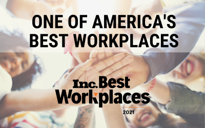 One of America's Best Workplaces!